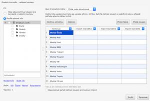 AdWords Editor - hromadné přidání sestav